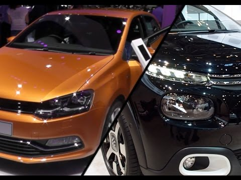 2017 Citroen C3 vs. 2017 Volkswagen Polo