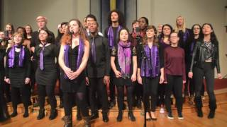 I Love the Lord/Joy to the World by Whitney Houston - The UoS Gospel Choir Christmas Concert 2016