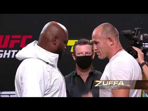 UFC Вегас 6: Льюис vs Олейник - Битвы взглядов