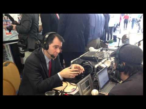 Governor Scott Walker on WBAL at CPAC