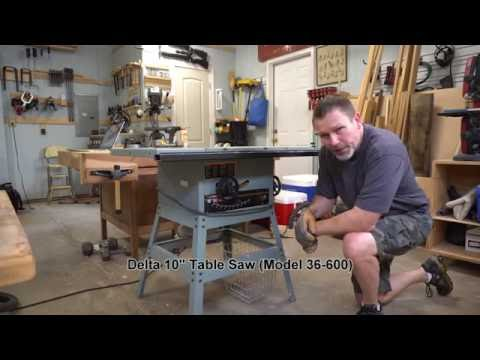 replacing-belt-and-brushes-on-delta-table-saw