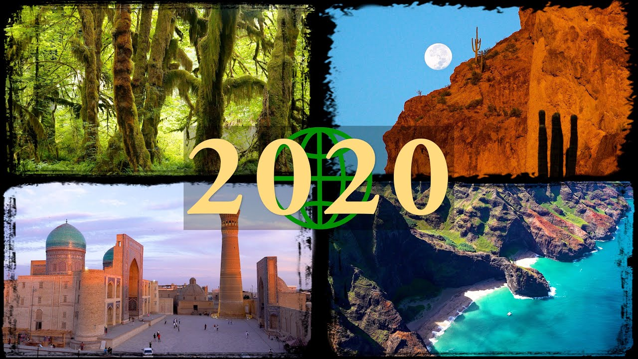 20 Rewind Amazing Places on Our Planet in 20K Ultra HD 20 in Review    YouTubeRewind
