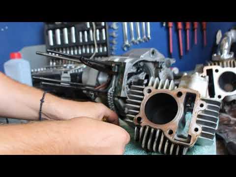 ΚΟΜΜΕΝΟΣ ΣΤΡΟΦΑΛΟΣ ΣΕ YX150 RACING ENGINE + ΕΠΙΣΚΕΥΗ PART 1 #Patentman