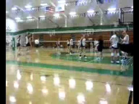 Sutter High School JV volleyball on Sept 3, 2011