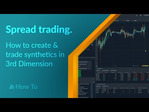 Spread trading  How to create & trade synthetics in 3rd Dimension