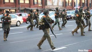 Спецназ страляе ў журналістку Нашай Нівы / Спецназ стреляет в журналистку Нашей Нивы