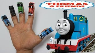 Thomas and Friends Finger Family Song (Daddy Finger) with REAL Toys