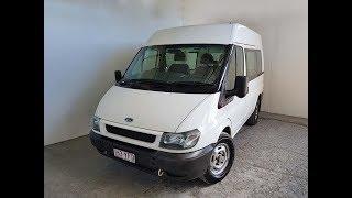 (SOLD) Automatic Turbo Diesel Mid Roof MWB 4 Door Ford Transit Van 2003 Review