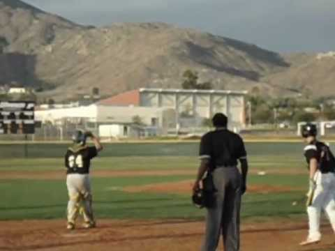 Austin Pritchard's walk off double for Patriot High April 2012 ...
