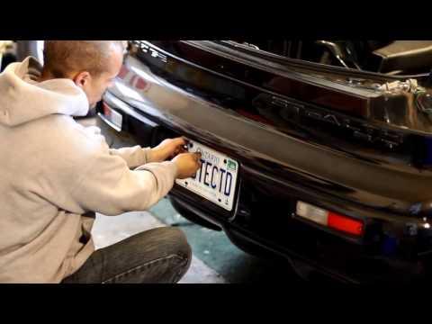 Dodge Stealth / Mitsubishi 3000 Gt Rear Bumper Removal