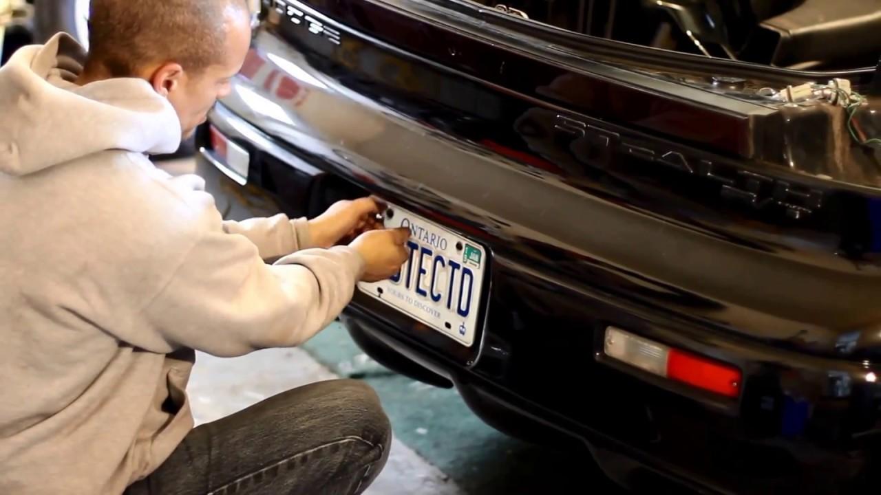 Dodge Stealth Mitsubishi 3000 Gt Rear Bumper Removal Youtube 91 Fuse Box
