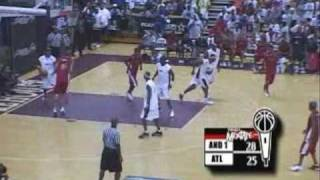 AND1 All-stars vs Atlanta All-stars Part.2