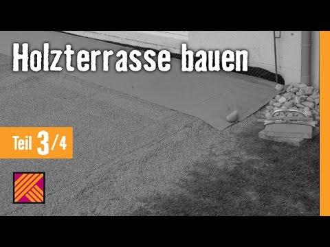 Version 2013 Holzterrasse Bauen Kapitel 3 Untergrund Vorbereiten