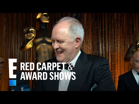 "John Lithgow Gushes Over ""The Crown"" at SAG Awards 2017 