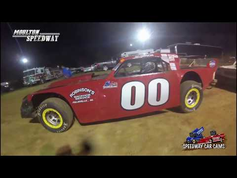 #00 Bobbyjo Robinson - Street Stock - 3-17-18 Moulton Speedway - In Car Camera