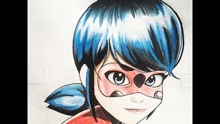How to draw Miraculous ladybug (step by step tutorial)