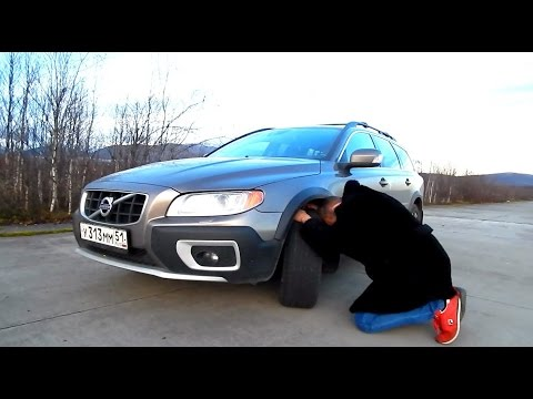 Volvo XC70 T6 Fuel Consuption in Summer (English)