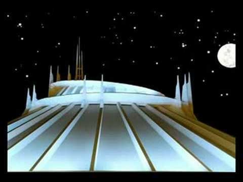 Space Mountain BackGround Music - YouTube