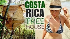 Tiny Tree House Container House Tour in Nosara, Costa Rica