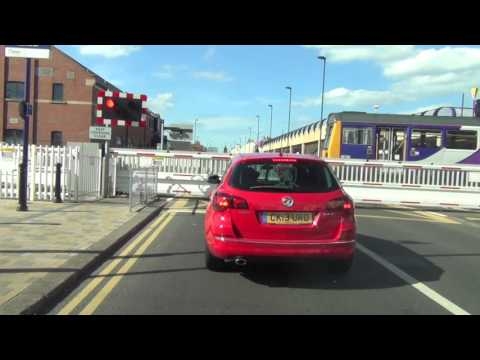 Redcar Central Level Crossing
