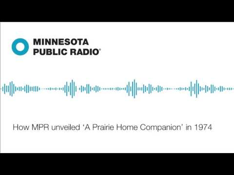 How MPR unveiled 'A Prairie Home Companion' in 1974