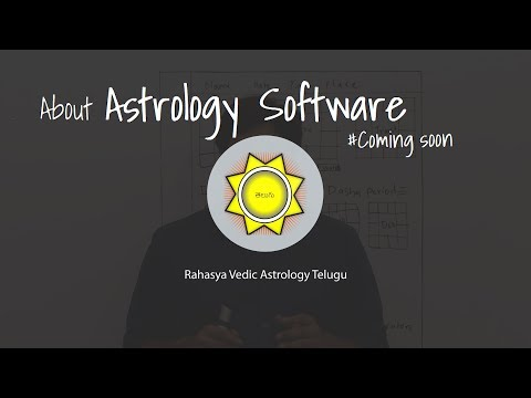 RVA Telugu Astrology Software | Astrology Blog in Telugu