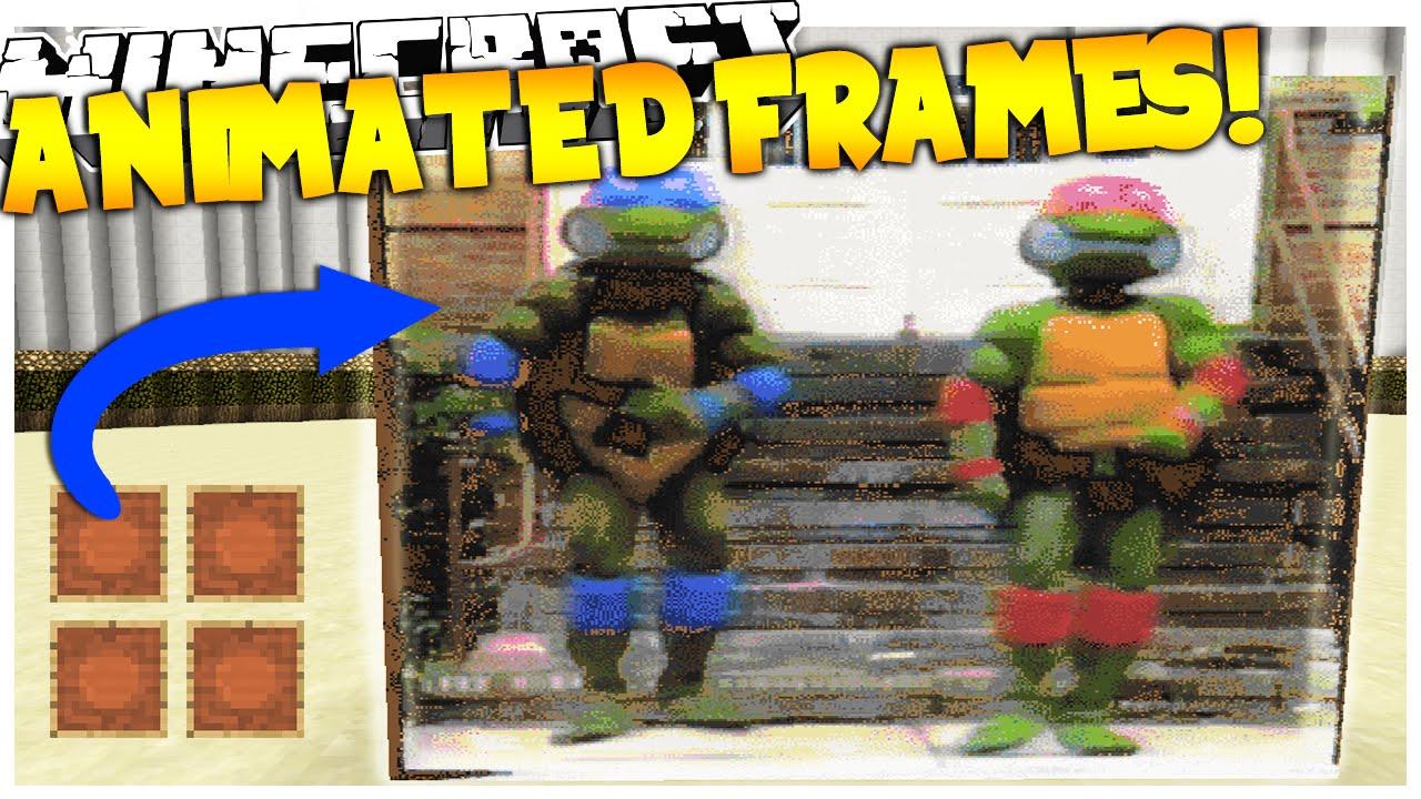 Minecraft Plugin | Animated Frames! (Play Any .GIF on Minecraft ...