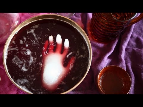 Wicked Witch Halloween Punch Recipe Video