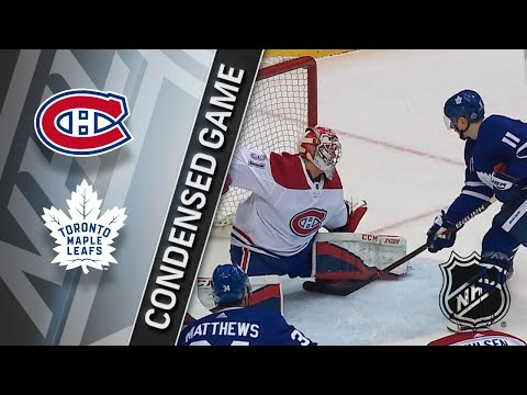04/07/18 Condensed Game: Canadiens @ Maple Leafs