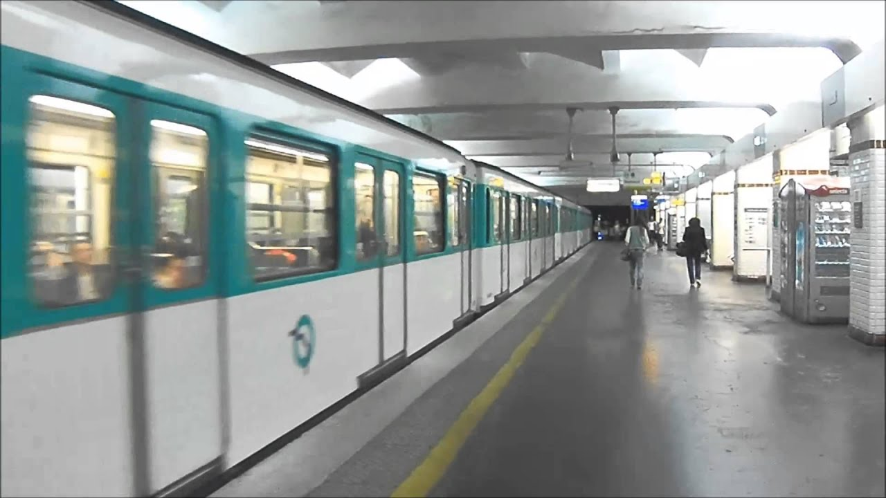 M tro de paris porte de saint cloud ligne 9 ratp mf67 youtube - Porte de st cloud metro station ...