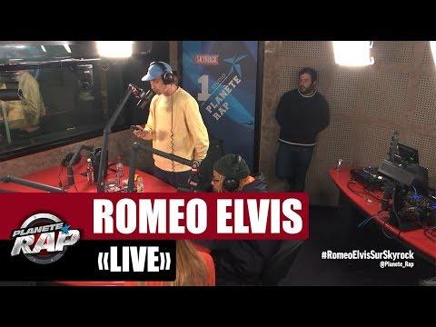 Roméo Elvis en live dans #PlanèteRap