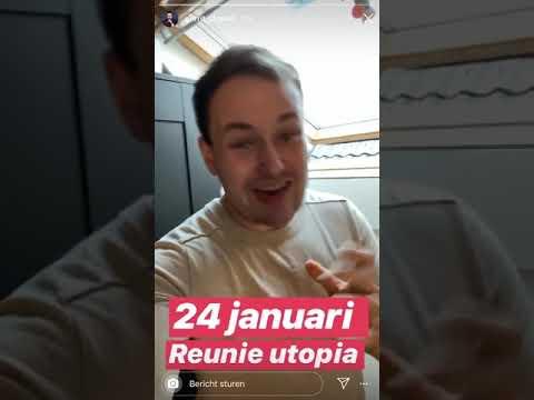Gerrit gaat zingen op de reünie van Utopia