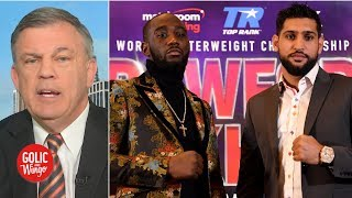 Terence 'Bud' Crawford will capitalize on Amir Khan's mistakes - Teddy Atlas | Golic and Wingo