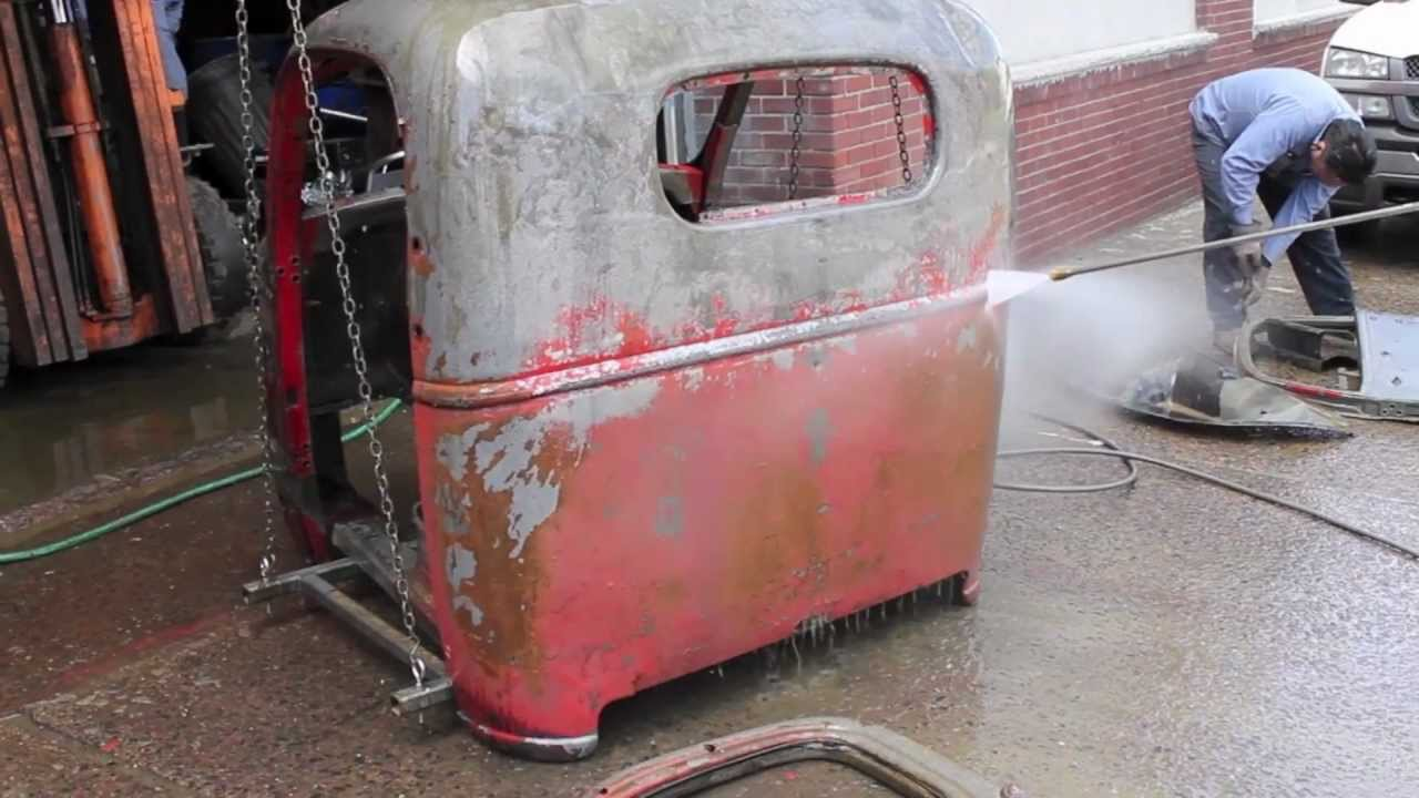 Removing Rust From A Classic Truck 1939 Chevrolet Cab