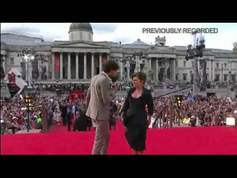 Ralph Fiennes & Imelda Staunton @ DH Part 2 Premiere (Voldemort & Umbridge)