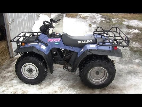 Pulloff For Sale >> Finished Engine Rebuild on 1997 Suzuki King Quad 300 LT... | Doovi
