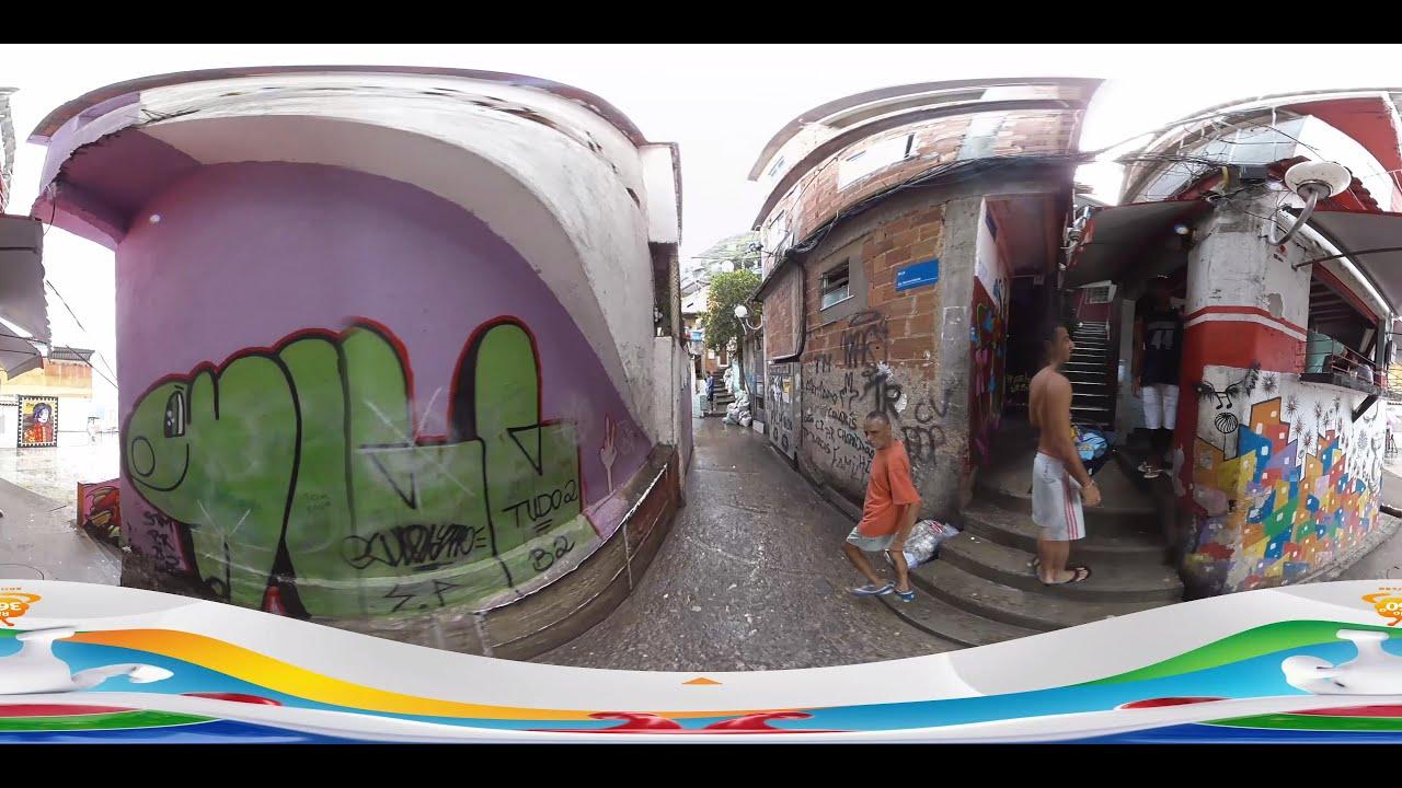 里約奧運2016 - 里約貧民窟 [360 video] (TVB) - YouTube