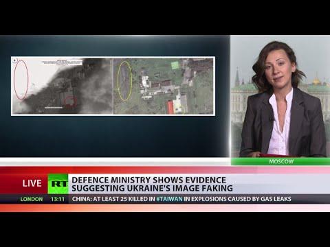 Kiev satellite images 'fake', taken days after MH17 crash - Russian Def Min