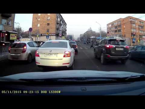 видео: Бог маневра на skoda octavia г/н А683МУ124