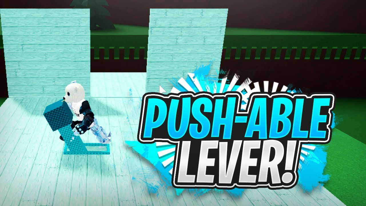 PUSH-ABLE LEVER DOOR MECHANIC!!!! - Build a Boat For Treasure ROBLOX