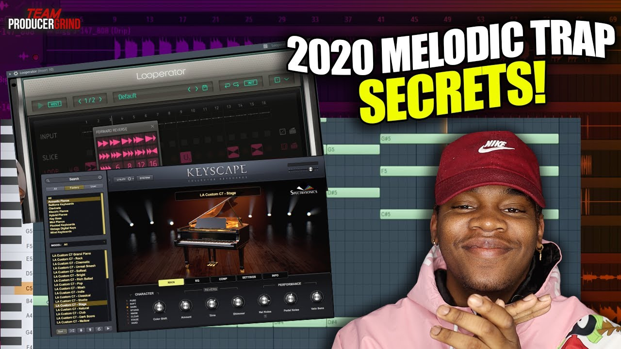 How To Make Melodic Trap Beats in 2020!!!