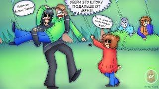 БИТВА ЗА ТУАЛЕТНУЮ БУМАГУ! (BALDI'S BASICS COMIC) | РУССКИЙ ДУБЛЯЖ [RUS]