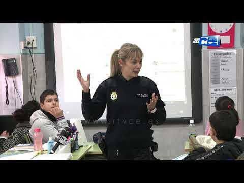 Policia Nacional imparte cursos formativo sobre seguridad en centros escolares de Ceuta