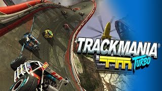 Trackmania Turbo #1 - Car Racing on SPEED! - Campaign & Online PC Gameplay