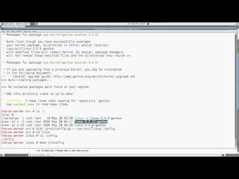 Gentoo / Linux Kernel update