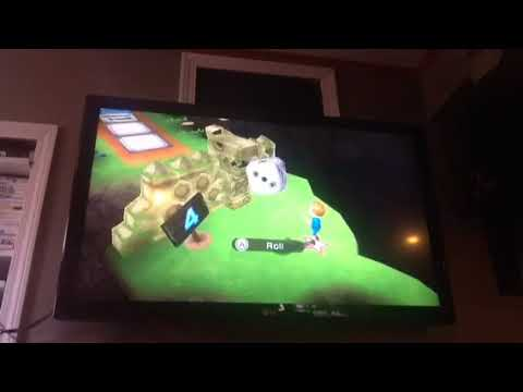 Let's play Wii party part 2 uh oh lava attack