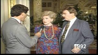 Ernie Anastos with Donald Trump