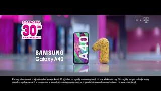 Śmieszne ceny w wyprzedaży T-Mobile! Tylko teraz Samsung Galaxy A40 już za złotówkę.