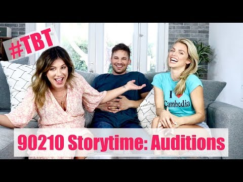 TBT  90210 STORYTIME: OUR 90210 AUDITIONS  Shenae Grimes Beech, Matt Lanter & Annalynne Mccord