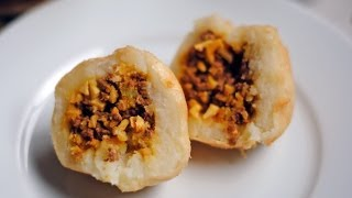Papas Rellenas Recipe - How To Make Colombian Stuffed Potatoes - Sweetysalado.com